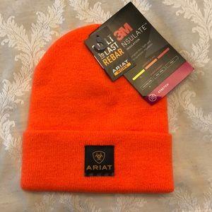 Ariat beanie, orange